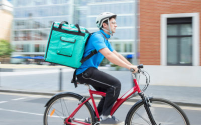 Bicycle Deliveries: What Happens if You Have an Accident?