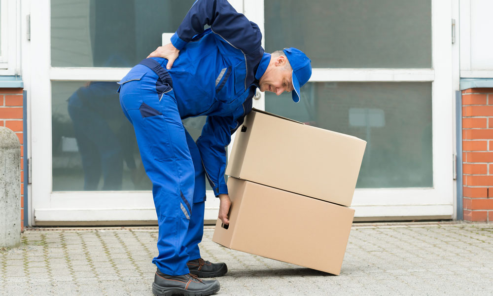 Heavy Lifting Accidents and Claiming Compensation