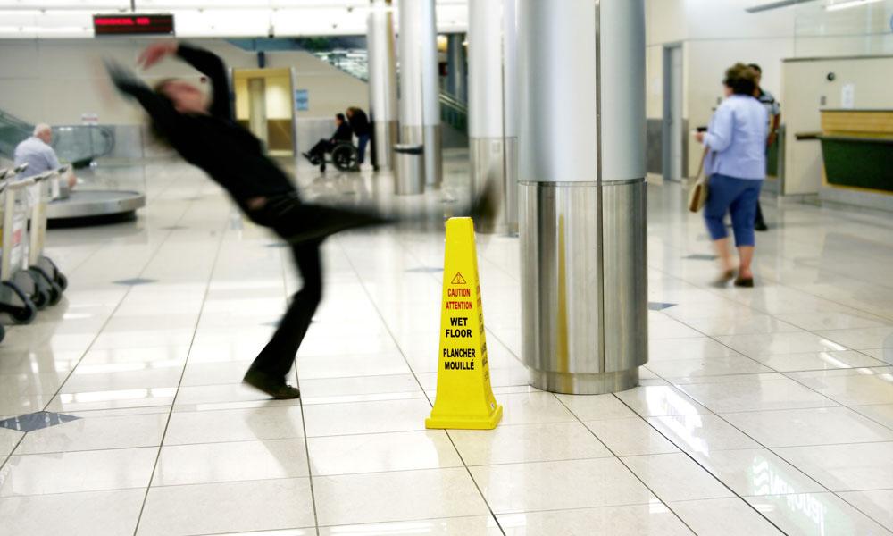 I Slipped on a Wet Floor: Can I Make a Compensation Claim?