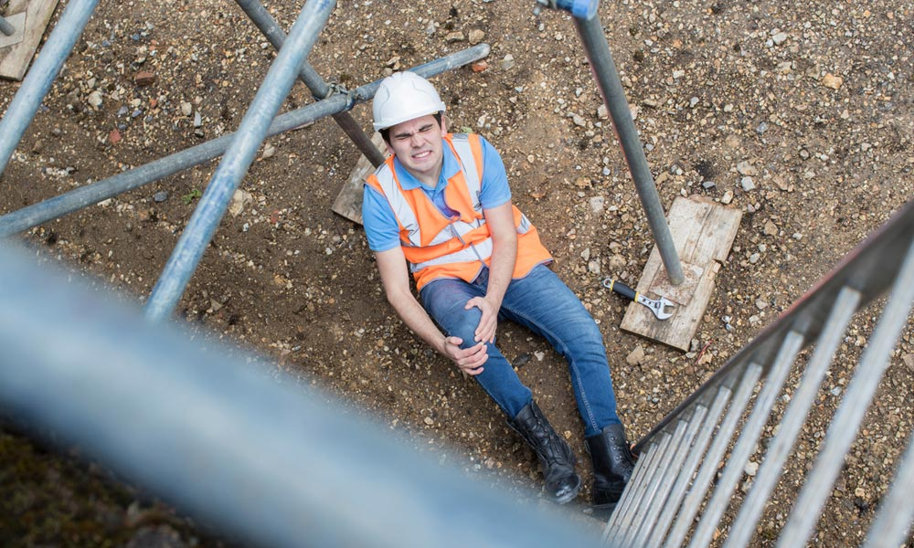 How to Claim Compensation if You Have Fallen from Height