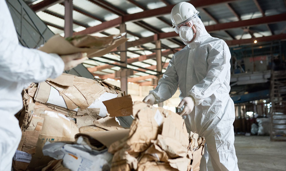 Injury At Work How to Claim Compensation for an Accident in a Waste Management Workplace Blog Image